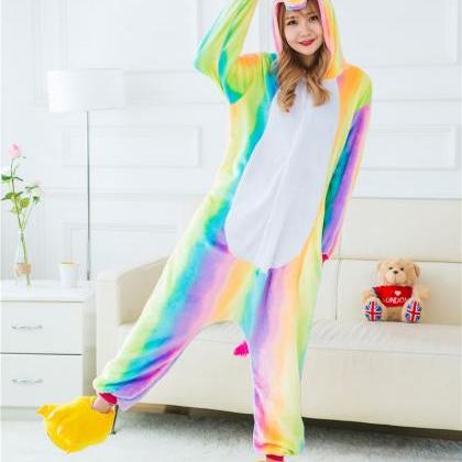 *FREE SHIPPING* Rainbow Unicorn Paj..