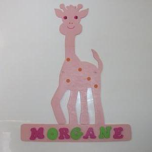 child name door wall plate sign cus..