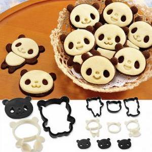 Panda Die Cut Cake Creative Cookie ..