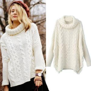 Autumn New Fashion Sweaters Women Casual White Long Sleeve