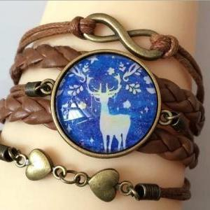 *Free Shipping* Leather Bracelet Wo..