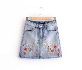 Floral Embroidered L..