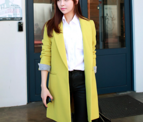 Lime Yellow Women Ca..