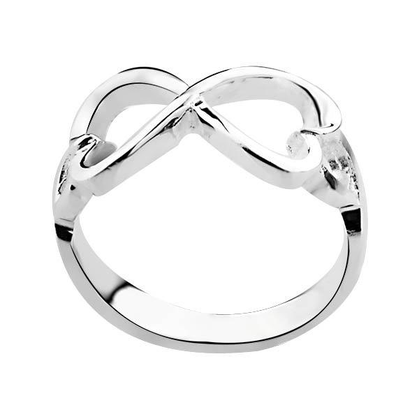 925 Sterling Silver Jewelry Hearts Bowknot Rings Infinity Engagement Betrothal