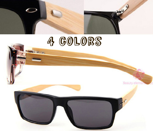 *FREE SHIPPING* fashion bamboo oculos de sol men women ourdoor vintage sunglasses summer retro Drive cool wooden glasses eyewear