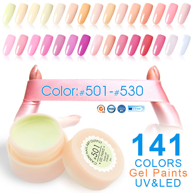 *FREE SHIPPING* CANNI Nail Painting Varnish 2017 New Fashion 50618 Perfect 141 Pure Colors Effect UV LED Soak off Gel Polish Nail Color Lacquer 32682985074