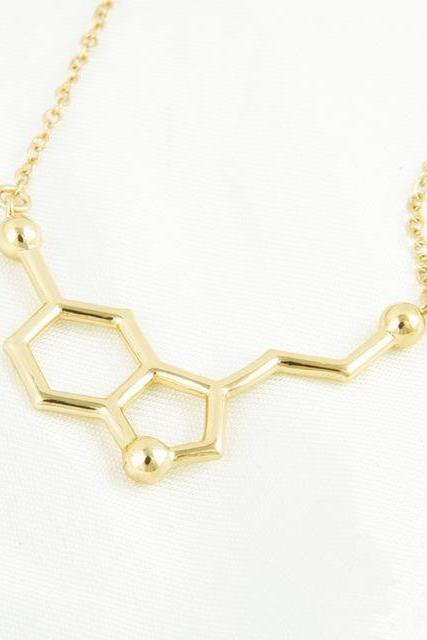 *Free Shipping* Personalized Chemical Necklace Dopamine Molecule Chemical Necklace Pendant Personalized Necklace 32794053659
