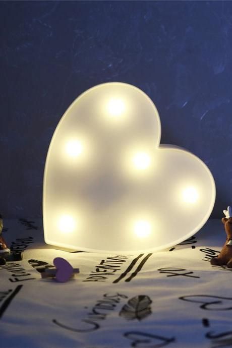 *Free Shipping* LED 3D Light Night Light Cute Kids Gift Toy For Baby Children Bedroom Decoration Lamp Indoor Lighting Heart 32833679026