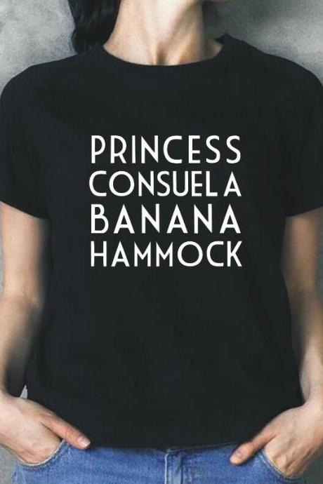 Princess Consuela Banana Hammock Women Summer Hipster Short Sleeve Casual T-shirt Women Tops 33030328401