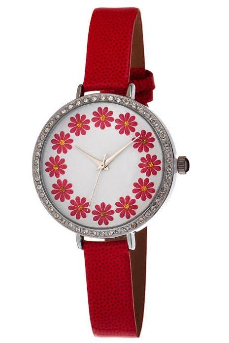 *Free Shipping* new trend Daisy flower diamond ladies watch high quality quartz movement Top fashion Luxury Designer wrist hour women 32291871612