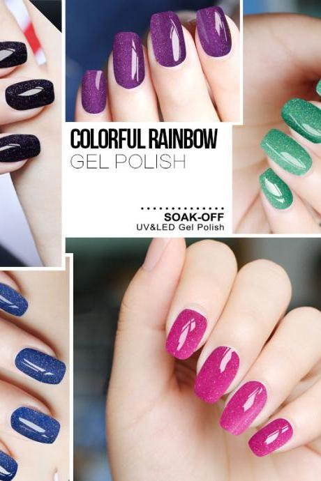 *FREE SHIPPING* Fashion Neon Nail Gel Polish Soak Off UV Colorful Nail Colors Art For gel nail polish Long-lasting Gel 32488593912