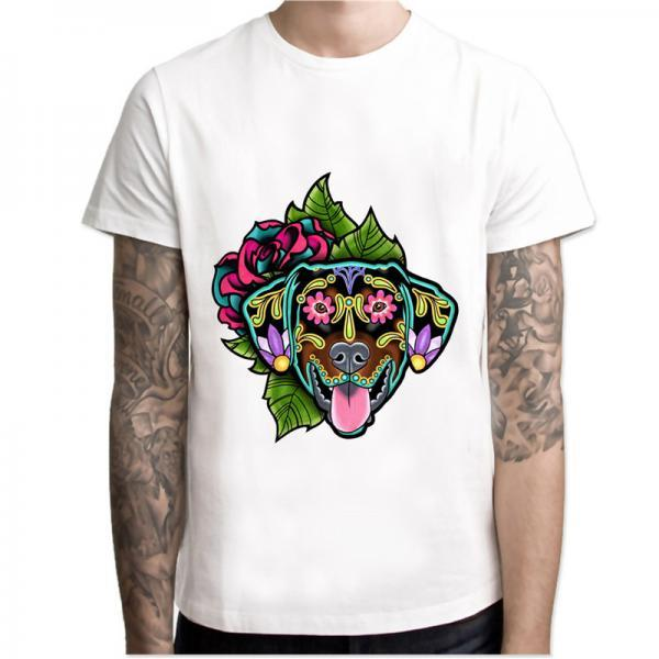 Doberman Cute Dog T shirt men t shirt fashion t-shirt O Neck white TShirts For man Top Tees MCR135 32834243082