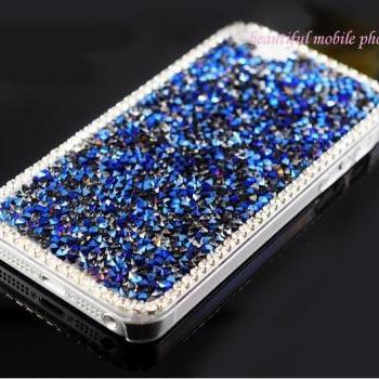 Luxury Crystal Bling Rhinestone Hard Back Case Cover For iPhone 4 4S Top quality diamond Case For iPhone 4