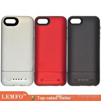 1700mah Power Bank 1:1 Pack Air Rechargeable External Backup Battery Charger Case Cover for iPhone 5 5S