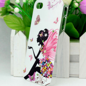 Latest style Glitter Bling Shining Hard Back Case for iphone 5 HK/China post